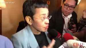 Journalist Maria Ressa Arrested for 'Cyber Libel' in the Philippines [Video]