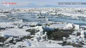 Lakes of Melted Snow are Causing Antarctic Ice Shelves to Bend [Video]