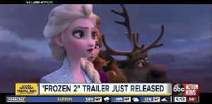 News video: Let it go, again! Disney releases 'Frozen 2' teaser trailer and the internet reacts