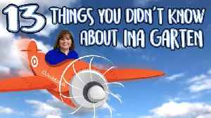 13 Things You Don't Know About Ina Garten [Video]