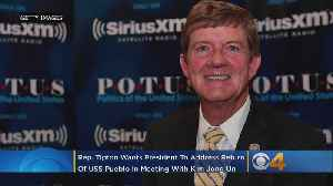 Rep. Scott Tipton Says It's Time For USS Pueblo To Come Home [Video]