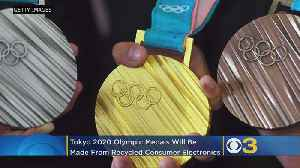 Tokyo 2020 Olympic Medals Being Made From Recycled Consumer Electronics [Video]