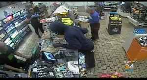Suspect Sought In Store Robbery [Video]