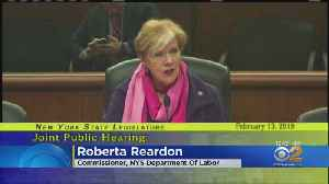 Sexual Harassment Front And Center In Albany [Video]