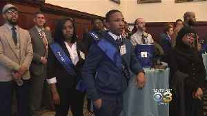 PAL Day: Dozens Of High School Students Shadow City Officials [Video]