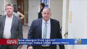 New Charges Filed Against Ambridge Police Chief [Video]