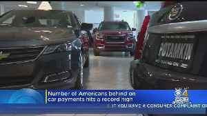 News video: Number Of Americans Behind On Car Payments Hits A Record High