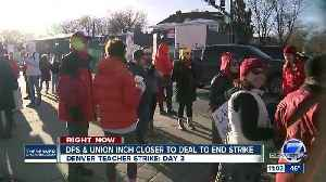 DPS, DCTA negotiating Wednesday, hopeful to reach agreement on third day of teacher strike [Video]