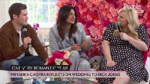 Priyanka Chopra Says Her Wedding to Nick Jonas Could Be a 'Biracial' Movie [Video]