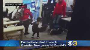 Man Releases Large Rat Inside Crowded New Jersey McDonald's [Video]