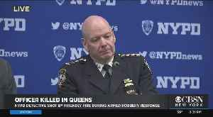 NYPD News Conference On Shooting Of Det. Brian Simonsen [Video]