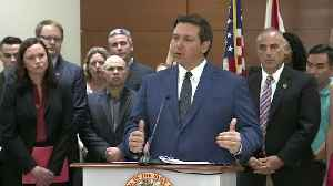 WEB EXTRA: Gov. Ron DeSantis Announced Petition For Statewide Grand Jury On School Safety Measures [Video]