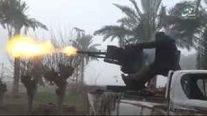 IS militants target Kurdish forces in Syria [Video]