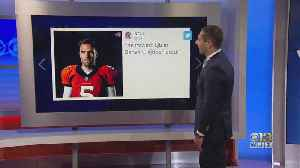 Fans Take To Social Media, React To Flacco Trade [Video]