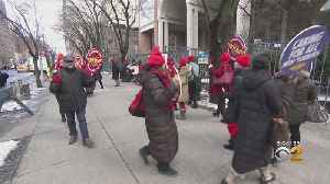 News video: Nurses Hold Day Of Protest Citywide