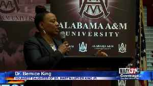 Bernice King Guest Lectures in Huntsville [Video]