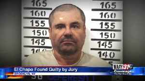 El Chapo Found Guilty by Jury [Video]