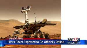 Mars Rover Expected to Go Officially Offline [Video]