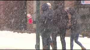 Icy conditions cause problems for drivers, walkers in Berks [Video]