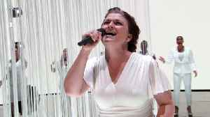 Once-Tone Deaf Singer Takes Us to Church - Vonnie Lopez's World's Best Audition [Video]