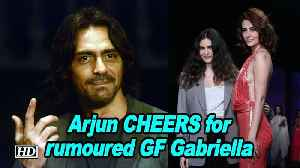 News video: Arjun CHEERS for rumoured GF Gabriella at Pernia's Runway Spring Summer'19