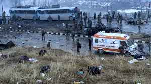 At least 18 Jawans killed in suicide attack on CRPF Convoy in J&K [Video]