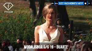 Duarte MBFW Madrid Spring/Summer 2019 | FashionTV | FTV [Video]