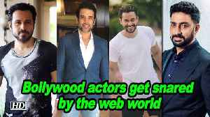 Bollywood actors get snared by the web world [Video]