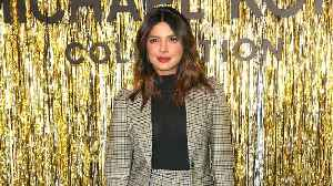 Priyanka Chopra Wore A Plaid Skirt Suit That Looks Like Something Out Of Kate Middleton's Wardrobe [Video]