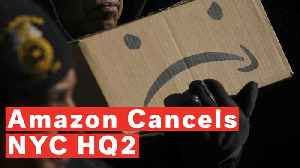 Amazon Cancels New York Headquarters Plans After Fierce Local Opposition [Video]