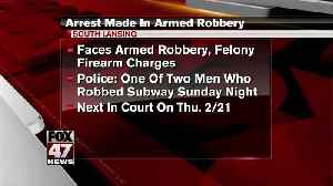 UPDATE: One suspect arrested in Subway robbery [Video]