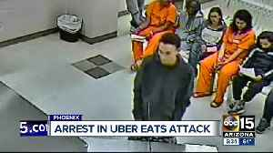 Two arrested in armed robbery of UberEats driver [Video]