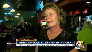 Police chief killed in crash was 'all-around good guy' [Video]
