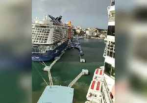 Norwegian Cruise Ship Collides With Dock in San Juan [Video]