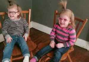 First Pairs of Glasses Help Twin Tots See the World Anew [Video]