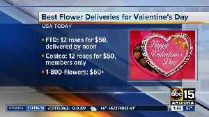 Last-minute flower deals for Valentine's Day [Video]