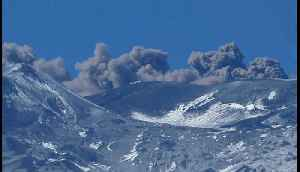 Smoke Rises From Mount Etna as Explosive Activity Reported [Video]