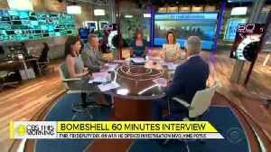 """Scott Pelley reveals what Andrew McCabe said during """"60 Minutes"""" interview [Video]"""
