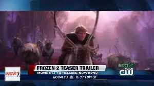 Disney unveils teaser for 'Frozen 2' [Video]
