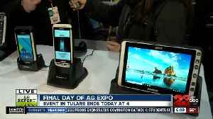 Final day of the 2019 World Ag Expo: Handheld [Video]