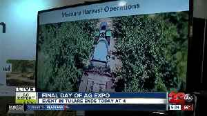 Final day of the World Ag Expo: Fieldin [Video]
