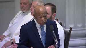 Rep. John Lewis eulogizes John Dingell at Washington funeral [Video]