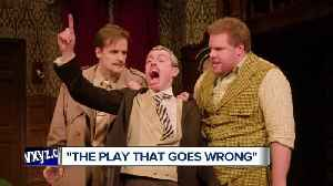 Everything is hilariously right in 'The Play That Goes Wrong' at Detroit's Fisher Theatre [Video]