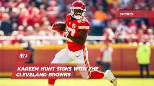 Kareem Hunt Is Now With The Cleveland Browns [Video]