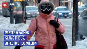 Tough Winter Weather Is Slamming 100 Million Americans [Video]