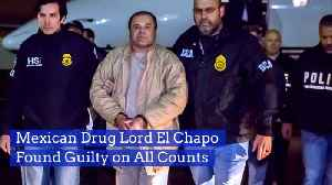 El Chapo Is Going To Spend His Life In El Prison [Video]