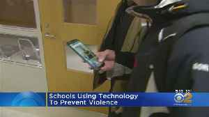 Schools Using Technology To Prevent Violence [Video]