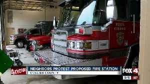 Neighbors resist proposed fire station in North Collier over noise concerns [Video]
