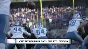 Lions re-sign Don Muhlbach for 16th season [Video]