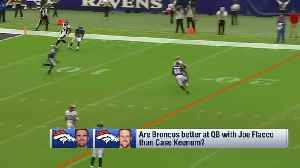 NFL Network's Reggie Bush on Denver Broncos' trade for quarterback Joe Flacco: 'I'm not sure this makes them better' [Video]